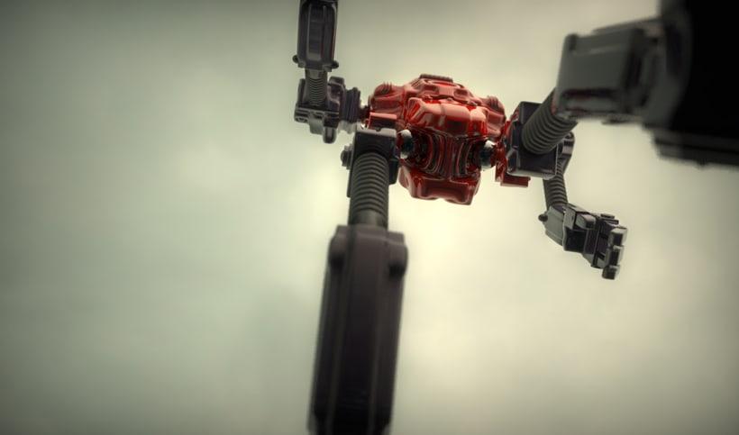 Un robot y un alienigena conductor 1