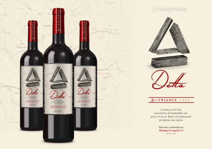 Wine project. Delta 1