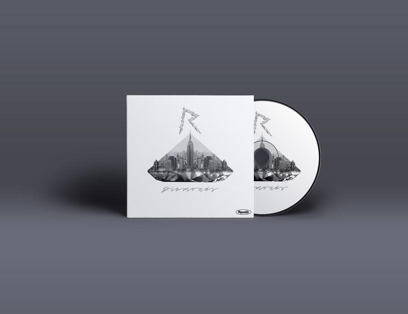 Carátulas CD ·  Rihanna (Proyecto para clase) -1