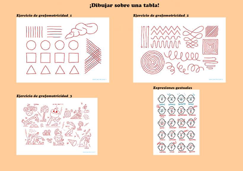 Mi Proyecto del curso Ilustración original de tu puño y tableta 1