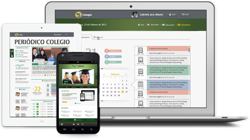 Colegios párr Sistema Integrado de Educación.Nuevo proyecto 1