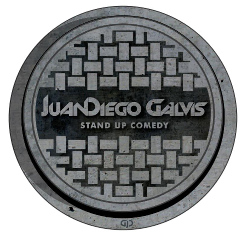 Identidad para el comediante Juan Diego Galvis 0