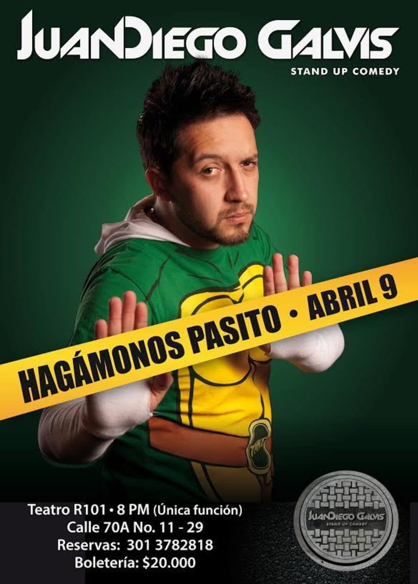 Identidad para el comediante Juan Diego Galvis 1
