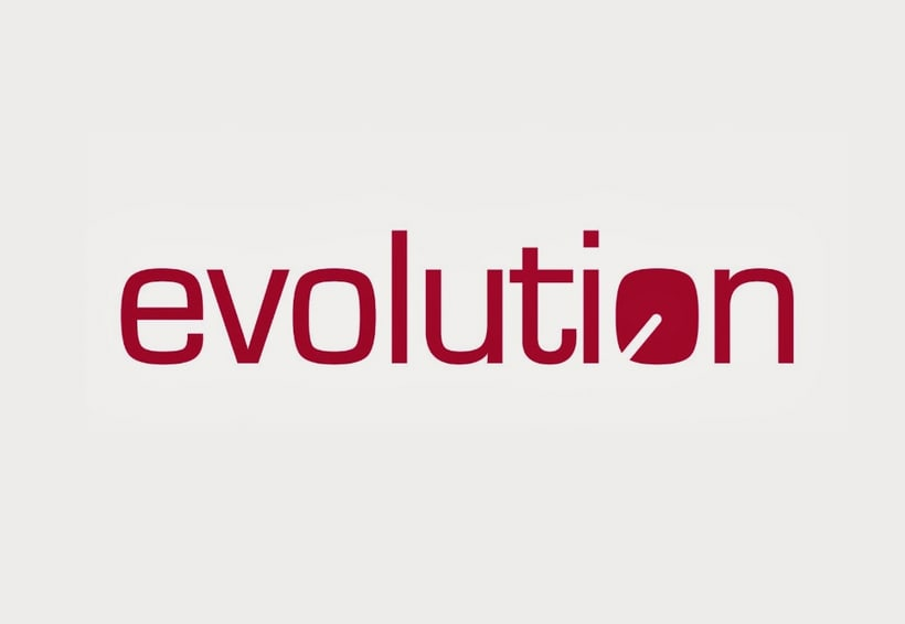 Evolution - logo design 0