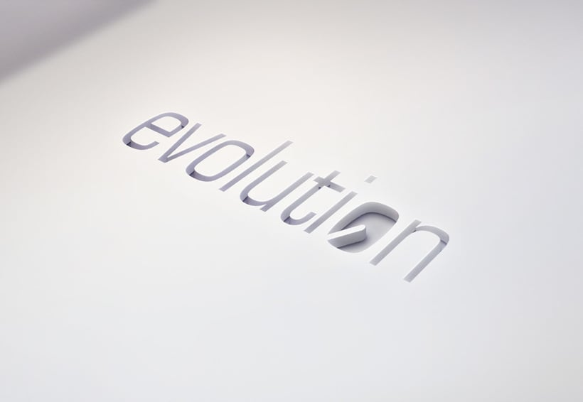 Evolution - logo design 2