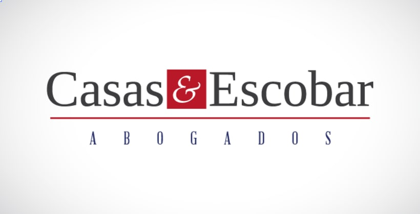 Identidad Corporativa Casa&Escobar Abogados 0