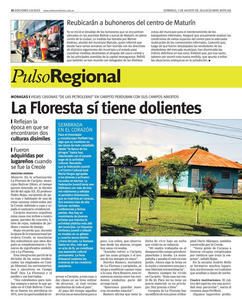 Diseños de Pulso Regional (Últimas Noticias) 0