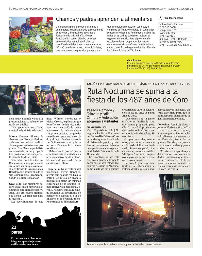 Diseños de Pulso Regional (Últimas Noticias) 7