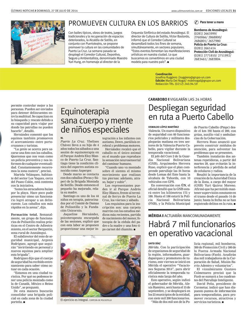 Diseños de Pulso Regional (Últimas Noticias) 11