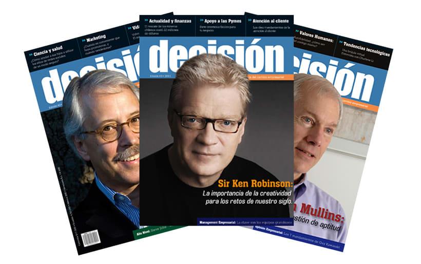Diagramación Revista Decisión Colombia 0