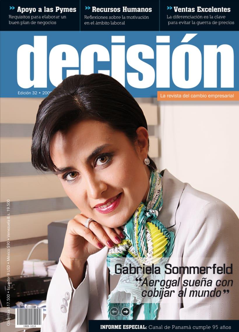 Diagramación Revista Decisión Colombia 2