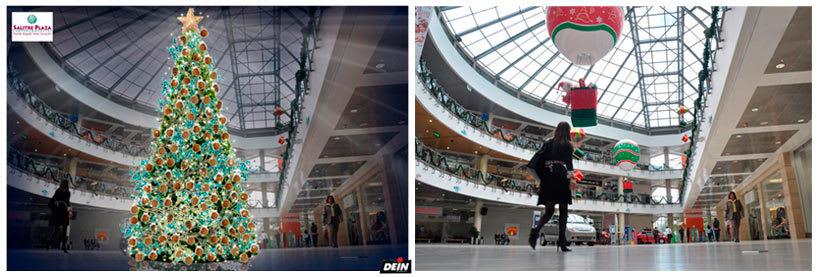 Retoque fotográfico y creación de prototipos para proyectos de decoración navideña en centros comerciales 13