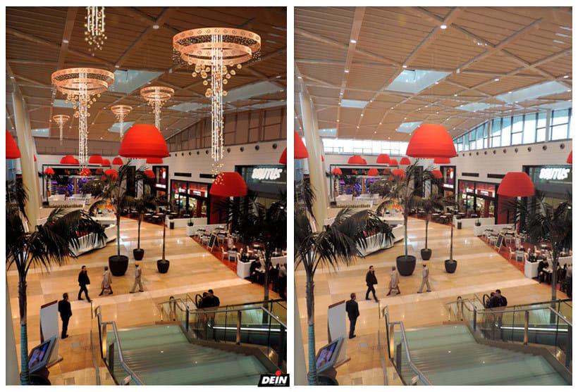 Retoque fotográfico y creación de prototipos para proyectos de decoración navideña en centros comerciales 3