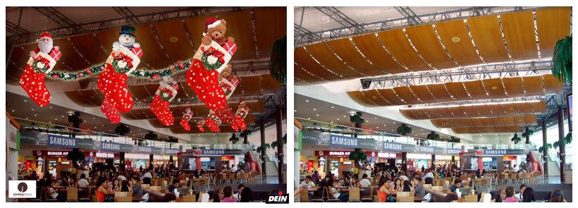 Retoque fotográfico y creación de prototipos para proyectos de decoración navideña en centros comerciales 18