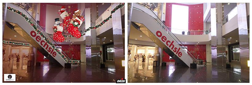 Retoque fotográfico y creación de prototipos para proyectos de decoración navideña en centros comerciales 20