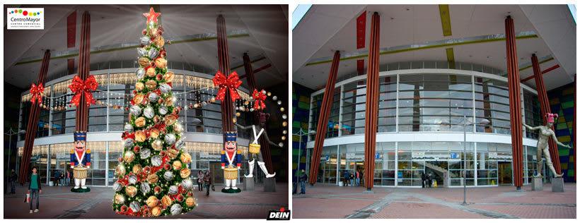Retoque fotográfico y creación de prototipos para proyectos de decoración navideña en centros comerciales 6