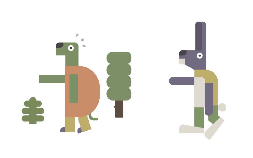 La liebre y la tortuga 2