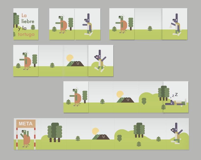 La liebre y la tortuga 4