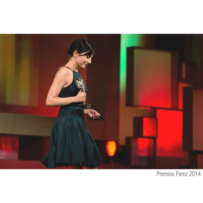 Escenografía Premios Feroz 2014. Cines Callao Madrid -1