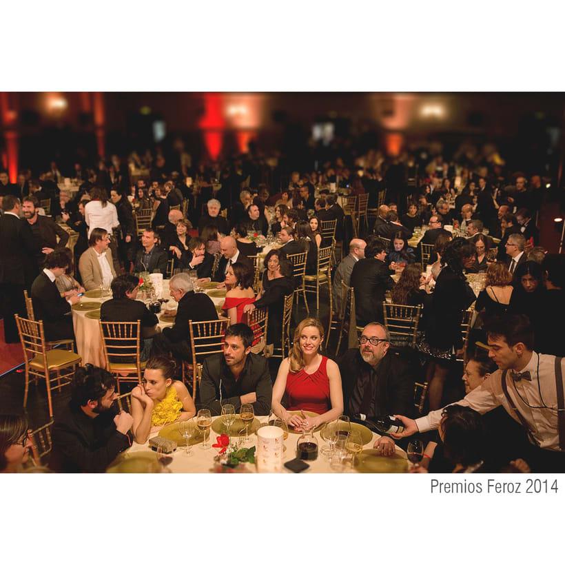 Escenografía Premios Feroz 2014. Cines Callao Madrid 1