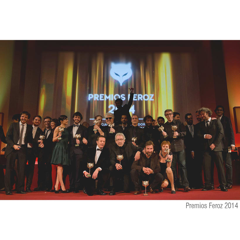 Escenografía Premios Feroz 2014. Cines Callao Madrid 3