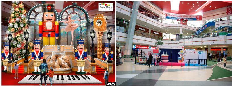 Retoque fotográfico y creación de prototipos para proyectos de decoración navideña en centros comerciales 30