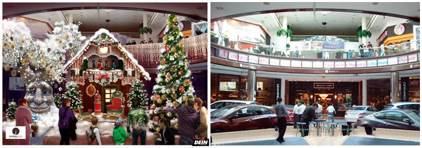 Retoque fotográfico y creación de prototipos para proyectos de decoración navideña en centros comerciales 33
