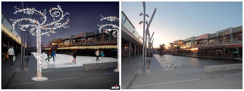 Retoque fotográfico y creación de prototipos para proyectos de decoración navideña en centros comerciales 35