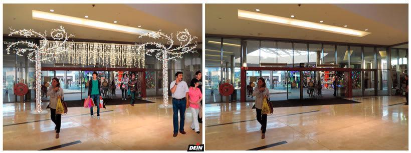 Retoque fotográfico y creación de prototipos para proyectos de decoración navideña en centros comerciales 37