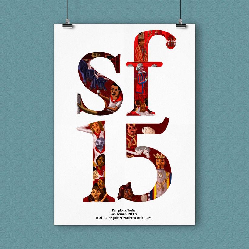 Ilustración Digital - San Fermín 2015 1