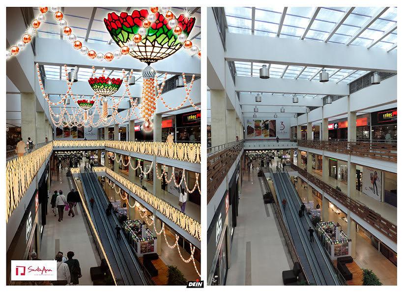 Retoque fotográfico y creación de prototipos para proyectos de decoración navideña en centros comerciales 22