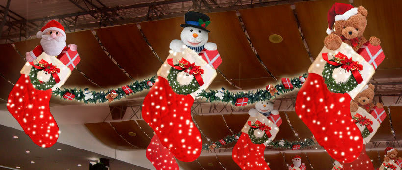 Retoque fotográfico y creación de prototipos para proyectos de decoración navideña en centros comerciales 17