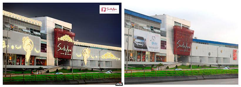 Retoque fotográfico y creación de prototipos para proyectos de decoración navideña en centros comerciales 24
