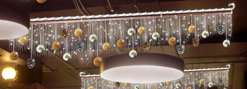 Retoque fotográfico y creación de prototipos para proyectos de decoración navideña en centros comerciales 26