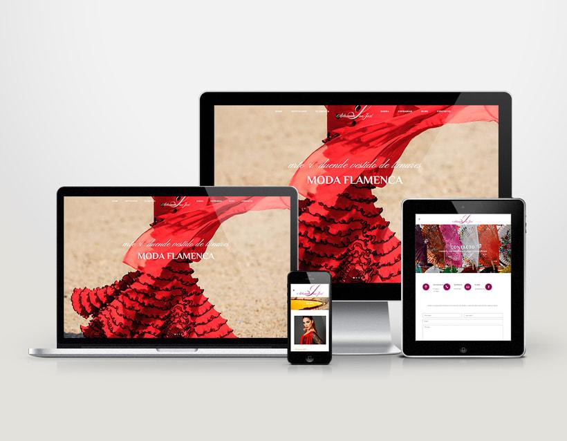 Diseño logotipo & página web 2
