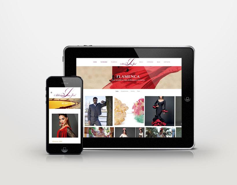Diseño logotipo & página web 3