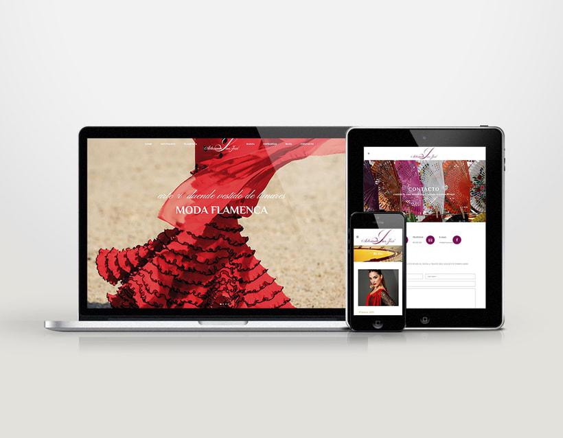 Diseño logotipo & página web 4