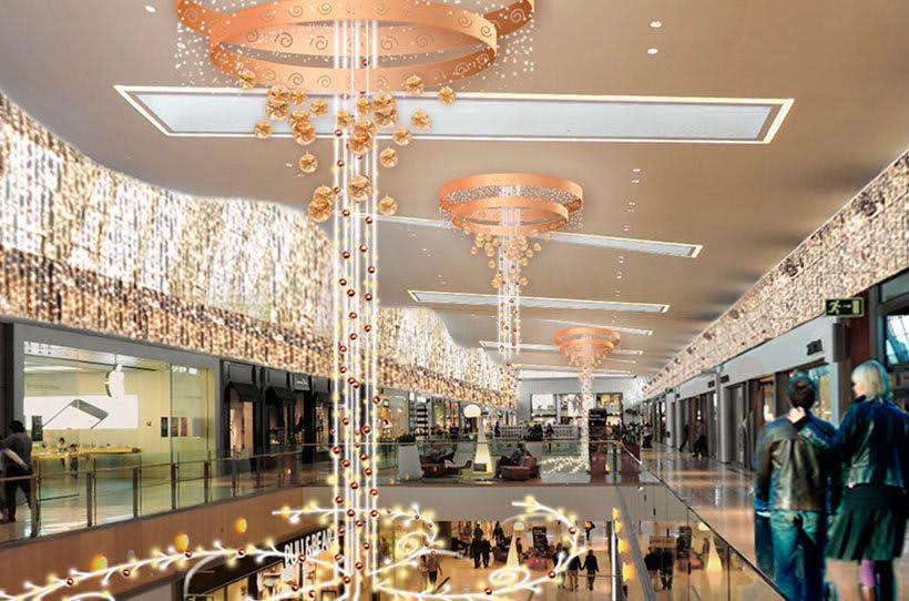 Retoque fotográfico y creación de prototipos para proyectos de decoración navideña en centros comerciales 0