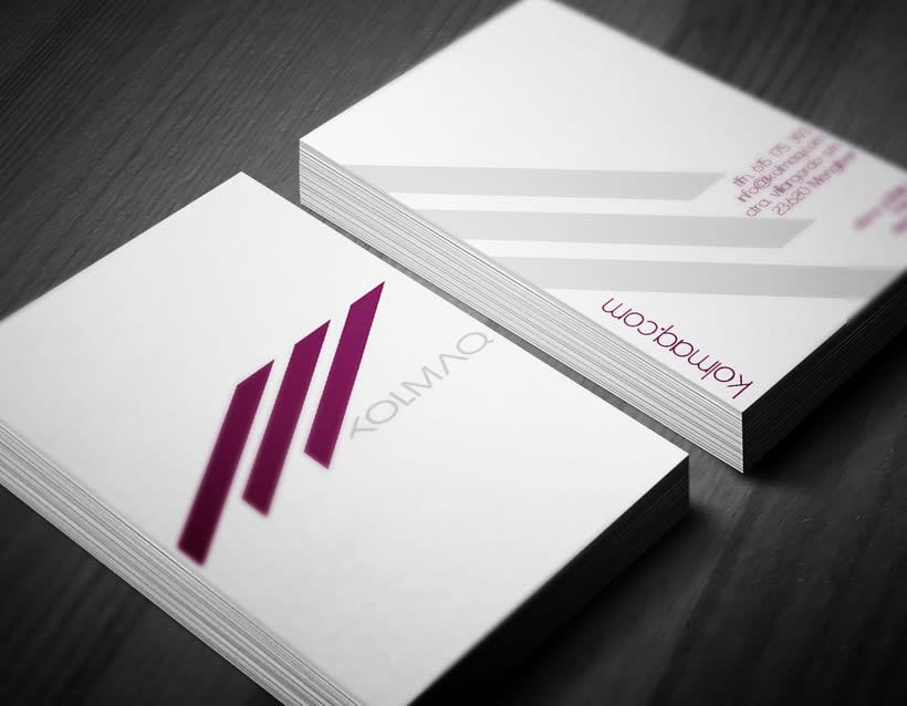 Diseño logotipo & tarjeta de visita 1