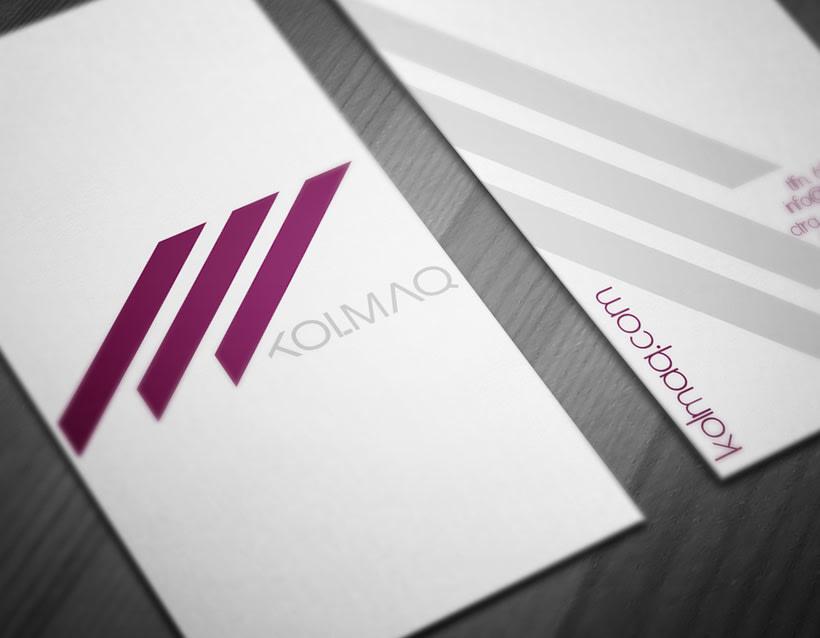 Diseño logotipo & tarjeta de visita 2