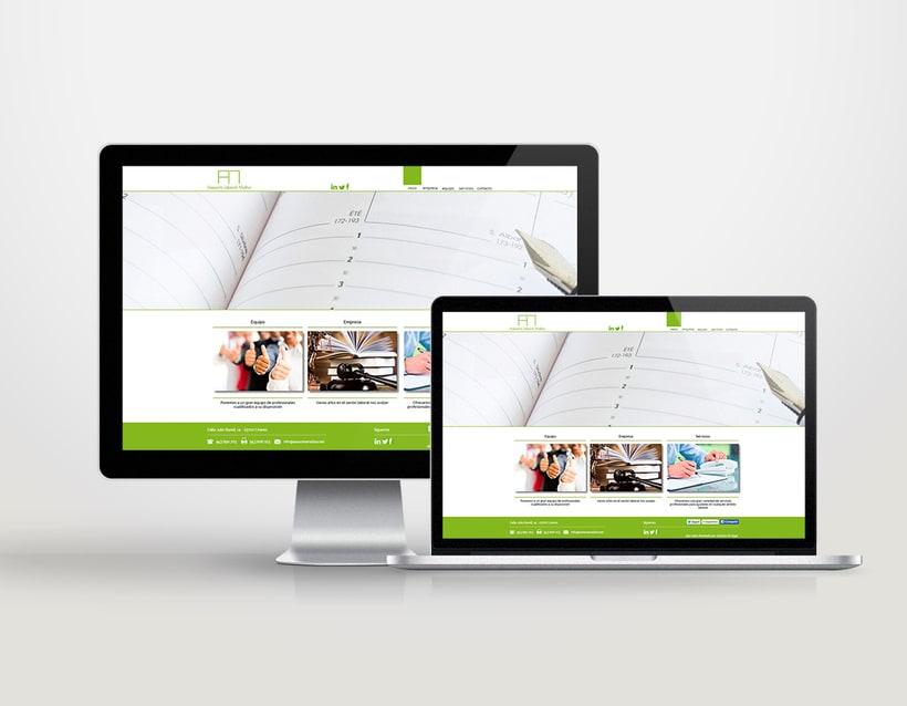 Diseño identidad corporativa & página web 5