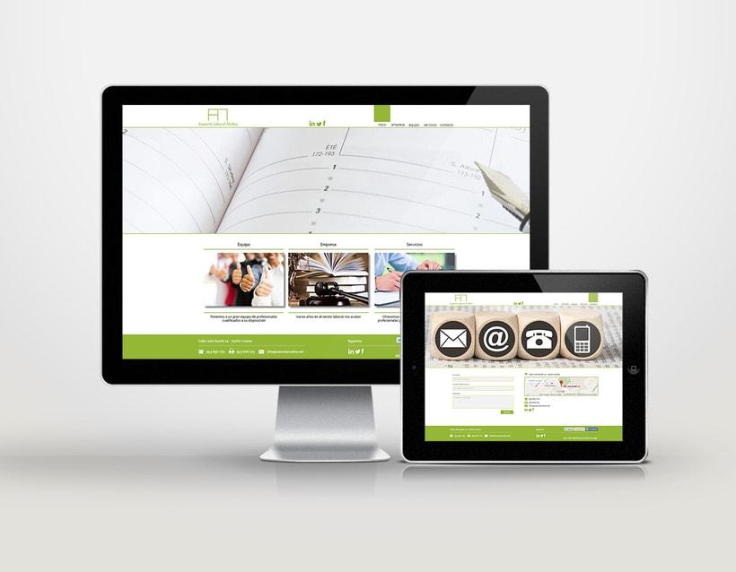 Diseño identidad corporativa & página web 6