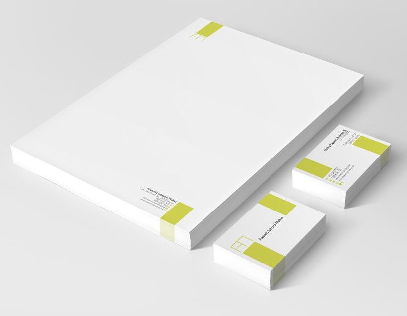 Diseño identidad corporativa & página web 1