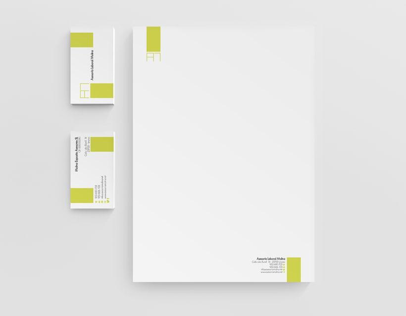 Diseño identidad corporativa & página web 2