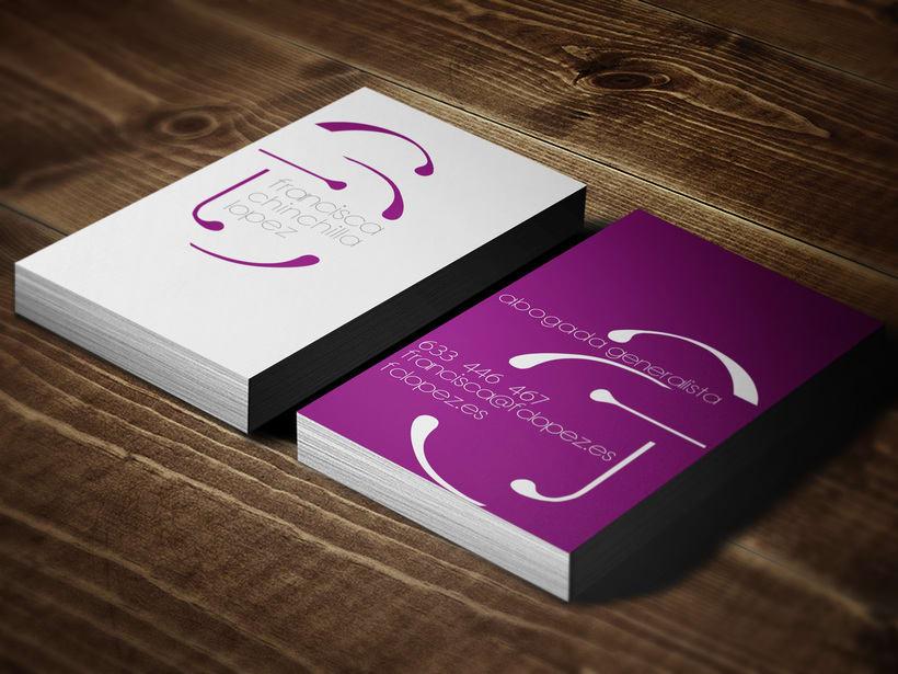 Diseño logotipo, tarjeta visita & página web 2