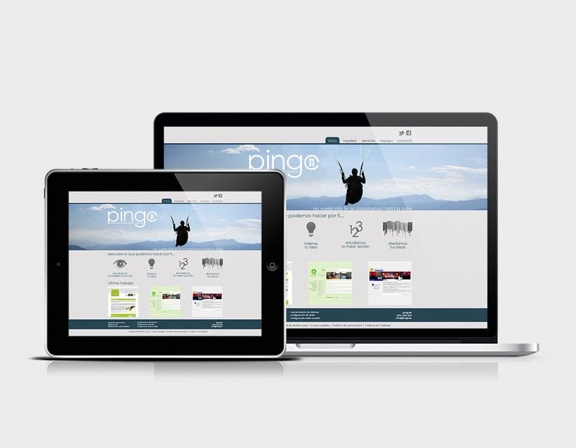 Diseño logotipo & página web 1