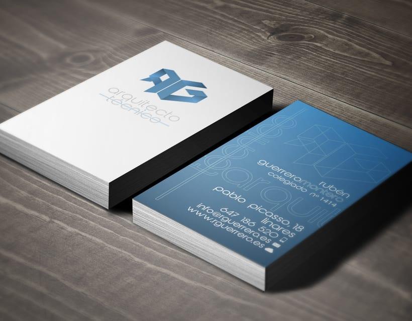 Diseño logotipo & tarjeta de visita 3