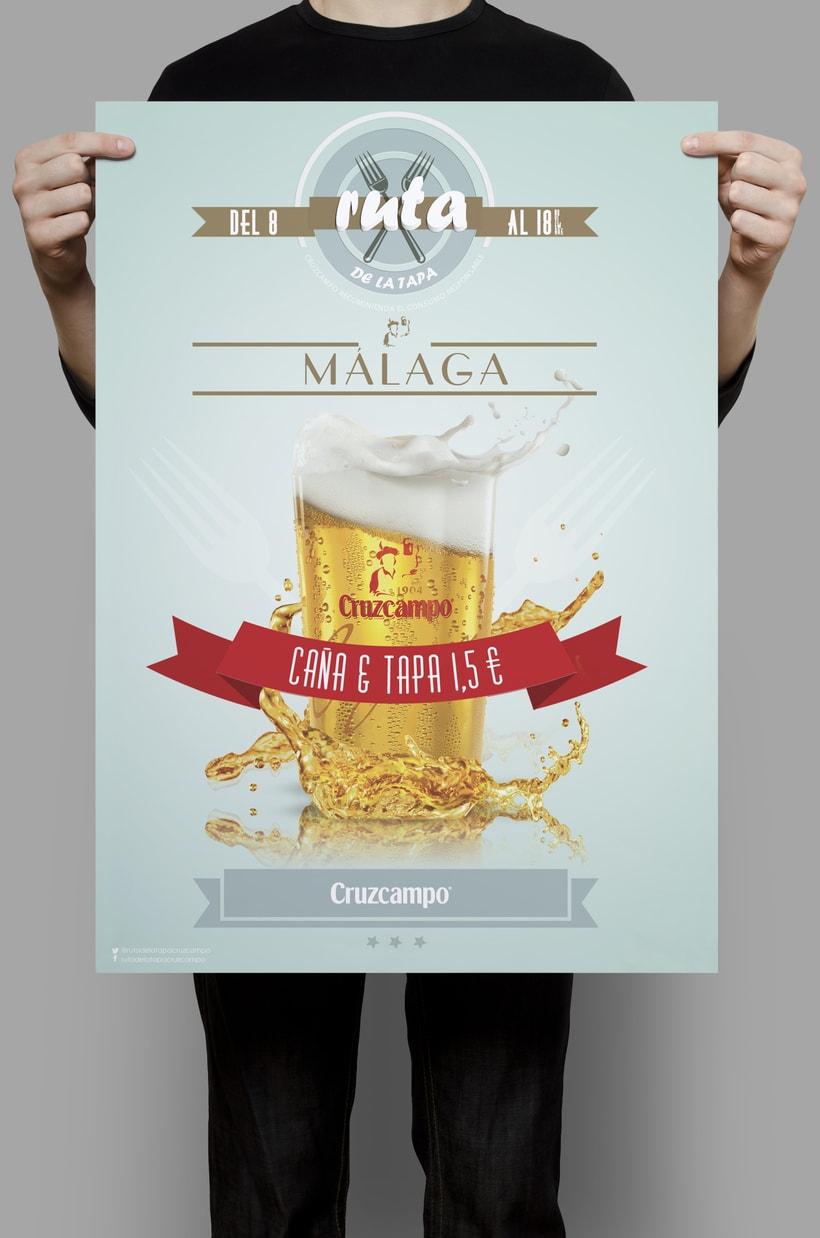 Diseño cartel & flyer 0
