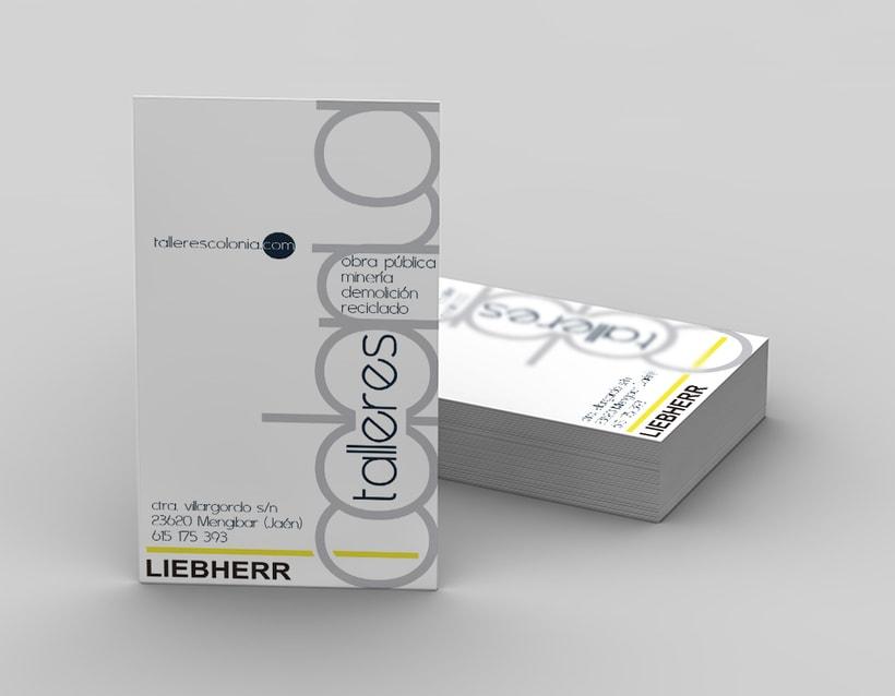 Diseño logotiopo & tarjeta de visita 2