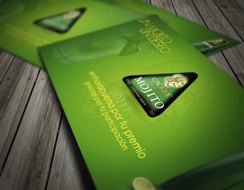 Diseño tarjeta promocional & interfaz web para intranet 1